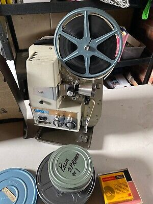 Sears Super 8 mm Auto Projector Vintage Used & Works with Old Movie Reels, used for sale  Shipping to South Africa