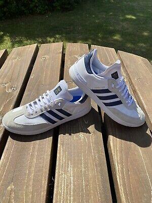 Adidas Originals Samba ADV Trainers | Size 10.5 | White | In Excellent Condition