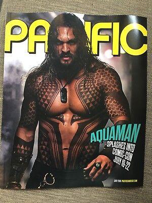 Jason Momoa Aquaman Magazine Comic Con Pacific Magazine