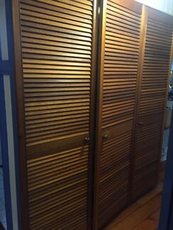 Timber cupboard wardrobe doors Greenslopes Brisbane South West Preview