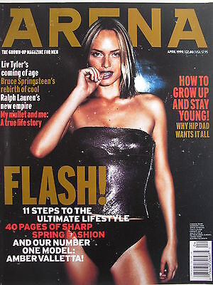 Amber Valletta  April 1999  Uk  Arena Magazine  Liv Tyler  Ralph Lauren
