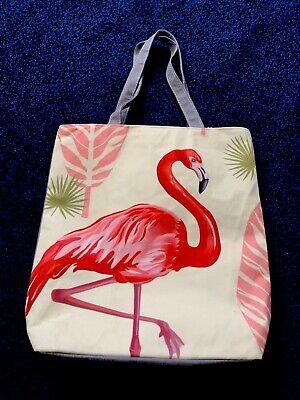 FLAMINGO PRINT TOTE BAG](Flamingo Tote Bag)