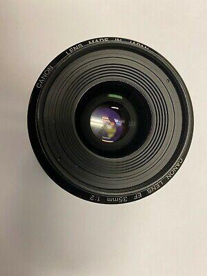 Canon EF 35mm f/2 EF Prime Lens EX++