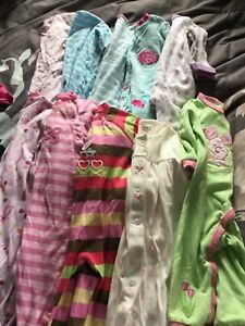9 month girl clothes lot