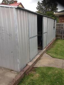 Galvanised Steel Shed Yallambie Banyule Area Preview