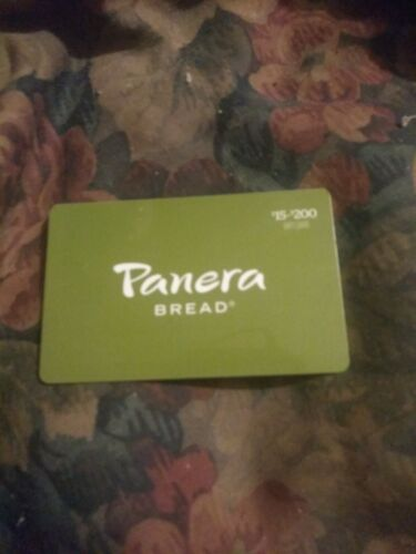 Panera Used Collectible - Gift Card NO VALUE SV1865083 - $1.88