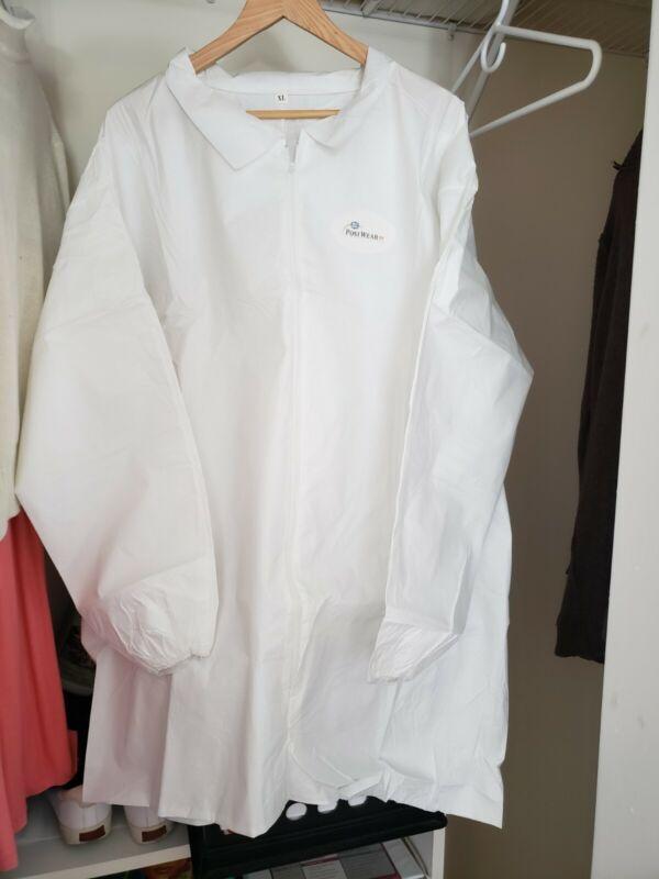 Lab Coats White Size medium