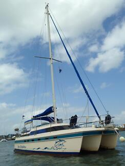 Island packet catamaran for sale