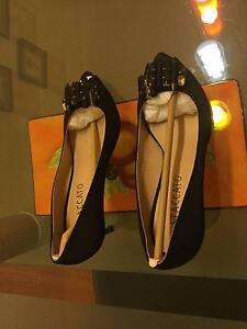 """Brand New """"Staccato"""" Black High Heel Open-Toed Shoes Chatswood Willoughby Area Preview"""