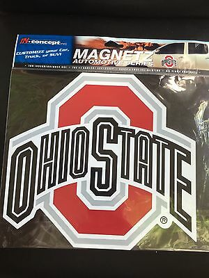 LARGE OSU OHIO STATE MAGNET FOR CAR TRUCK VAN SUV OR HOME  BUCKEYES FOOTBALL