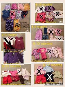 Girl 6-12 months clothing