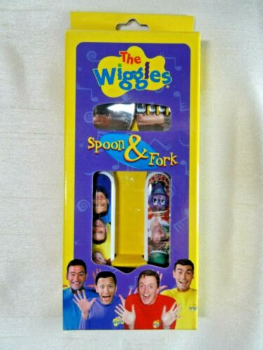 NEW The Wiggles Spoon & Fork Set