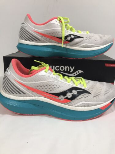 SAUCONY Endorphin Speed Size 11.5 Men's Running Shoes Preowned @10 Miles