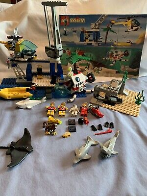 Lego #1782 Divers:DISCOVERY STATION, Vintage 1997, 100%Complete w/ Box & Manual