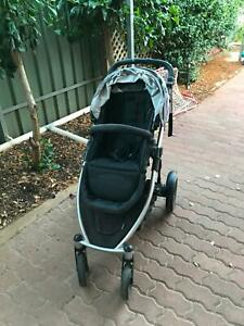 Strider Compact with second baby seat