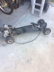 50cc gas powered skateboard