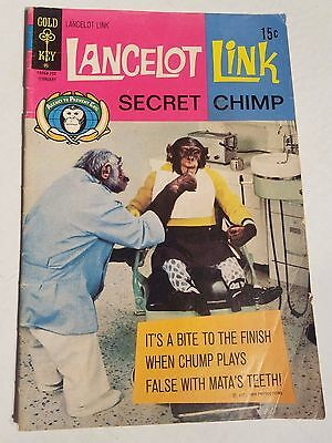 Lancelot Link Secret Chimp (1971 Gold Key)  #4 TV Photo Cover