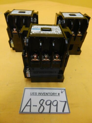 Hitachi UH35N AC Magnetic Contactor Reseller Lot of 3 Used Working