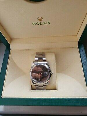 Rolex Date Just II oyster Steel, Silver green Wimbledon 41mm