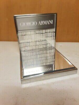 Giorgio armani Shop Counter Display Stand Mirrored