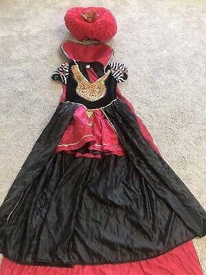 Mad Hatter Queen Of Hearts Costume (Queen Of Hearts And Mad Hatter Halloween Costumes)