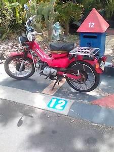 Selling my ct110 postie bike $700 Warnbro Rockingham Area Preview