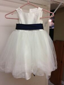 Size 3 Ivory flower girl dress