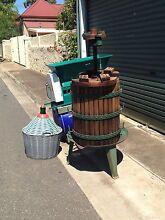 Winemaking equipment Croydon Charles Sturt Area Preview