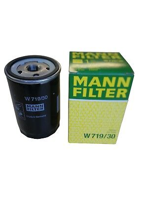 Original MANN Ölfilter W719/30 Audi Seat Skoda VW  1,5 V Dc Aa Pack