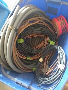 Various electrical/conduit wires