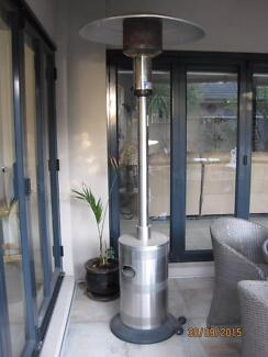 Outdoor patio heater with gas bottle Skye Frankston Area Preview