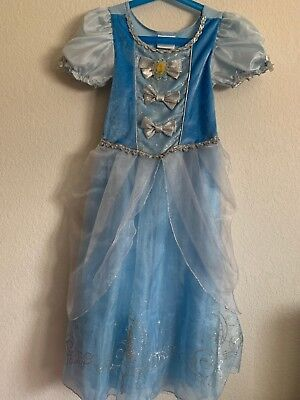 Princess Cinderella Dress Disney Store Small Halloween Costume Size 5/6