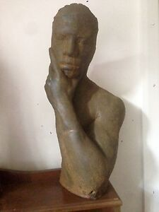 Male Figure Bust South Yarra Stonnington Area Preview