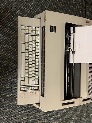 Ibm Vintage Wheelwriter 5 Type 674x Electronic Typewriterword Processor 1984