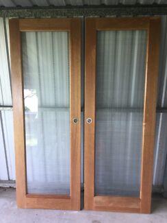 Timber glass door building materials gumtree australia brisbane internal timber glass doors planetlyrics Gallery