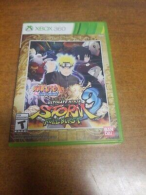 Naruto Shippuden: Ultimate Ninja Storm 3 Full Burst (Microsoft Xbox 360,