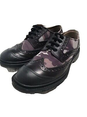 Pezzol 1951 Shoes Made For Living And Working On Oil And Gas Rigs Brown Camo