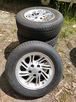205/65r15 tyres on 15 inch ford alloy rims