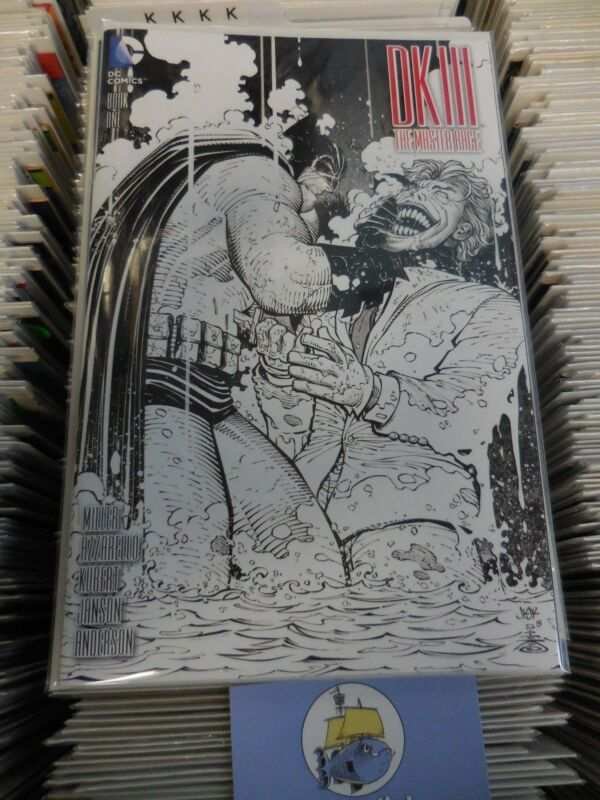Batman Dark Knight 3 DKIII John Romita Jr sketch variant FACTORY case of 110