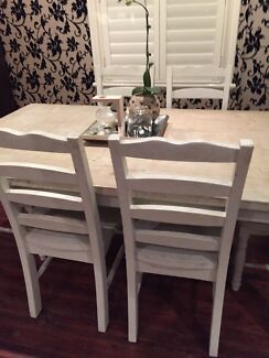 Dinning table set x 6 chairs  Drummoyne Canada Bay Area Preview