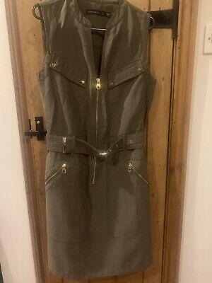 karen millen Khaki Dress Size 8