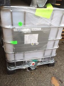 FOOD GRADE IBC TOTES USED ONCE