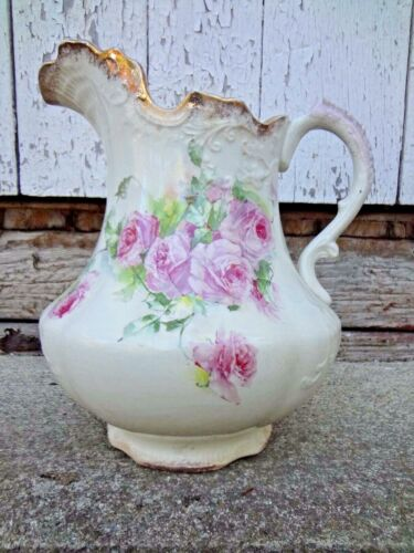 VINTAGE ANTIQUE WASH PITCHER BALLARD