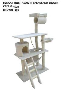 NEW CAT TREES - 4 STYLES/SIZES - FROM $12.50