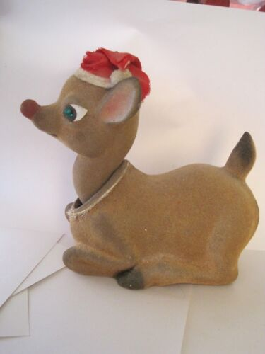 Early Rudolph Big Bobble Head