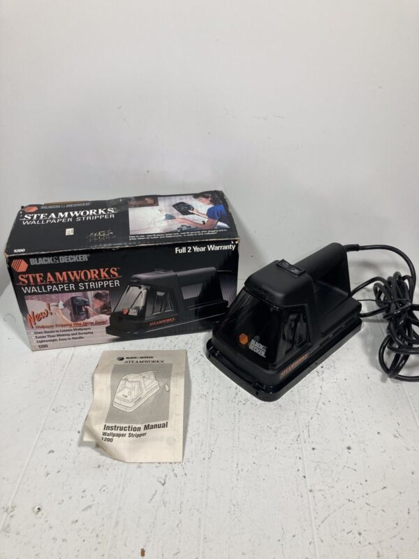 Black & Decker Steamworks 1200 Wallpaper Stripper, With Box