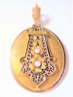 Antiguo Colgante Oro Auténtico 585 Con Semilla De Perla, 10,28 -  - ebay.es