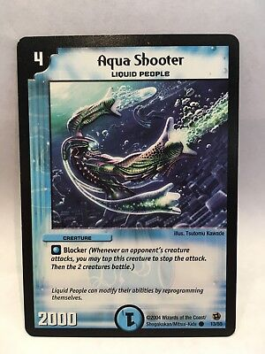 x2 Aqua Shooter (13/55) | Duel Masters Trading Card Game Single Card