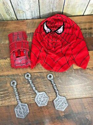 Marvel Hasbro Spiderman Rope Slinger Toy Sling Shot Web Halloween Costume Mask - Web Slinging Games