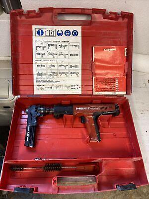 Hilti Dx351 Powder Actuated Tool Nail Gun Fastener With X-mx32 Bb08